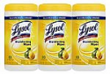 Deals List: Lysol Disinfecting Wipes, Lemon and Lime Blossom, 80 Count (3-Pack)