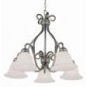 Deals List: Bel Air Lighting Stewart 5-Light Pewter Incandescent Ceiling Chandelier