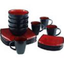 Deals List: Gibson Home Soho Lounge Square 16-Piece Dinnerware Set