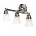 Deals List: Hampton Bay 05381 3-Light Brushed Nickel Bath Sconce