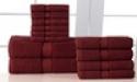 Deals List: 12-Piece 600gsm 100% Egyptian Cotton Towel Set
