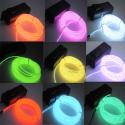 Deals List: US 5M/16ft Flexible EL Wire Neon LED Light Rope Party Car Decorati BATTERY PACK