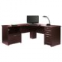 """Deals List: Realspace® Magellan Performance Collection L Desk, 30""""H x 70 9/10""""W x 23 1/5""""D, Espresso"""