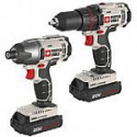 Deals List: Porter-Cable Cordless Li-Ion Drill & Impact Driver Combo Kit PCCK604L2 (Manufacturer refurbished)