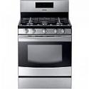 Deals List: Samsung 5-Burner Freestanding 5.8-cu ft Gas Range (Stainless Steel) - NX58F5500SS