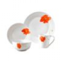 Deals List: Gallery Poppy 16-pc. Dinnerware Set