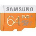 Deals List: Samsung 64GB EVO Class 10 microSD Card with Adapter
