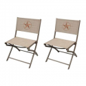 Deals List: 2-Pack Hampton Bay FDS00230E Parksville Folding Woven Patio Chair