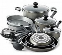 Deals List: Farberware Nonstick Dishwasher Safe 17 Piece Cookware Set