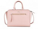 Deals List: kate spade new york 'north court - coralline' pebbled leather satchel