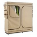 Deals List: Honey-Can-Do WRD-01272 Double Door Storage Closet with Shoe Organizer, 60-Inch
