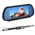 """Deals List: Image - 7"""" Inch Security 16:9 Color TFT LCD Wide Screen Car Rear View Backup Parking Mirror Monitor + Camera - Black"""