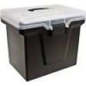 Deals List: Staples Handy File Box with Organizer Top
