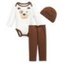Deals List: First Impressions Baby Boys' 3-Piece Hat, Dog Bodysuit & Pants Set