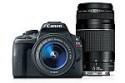 Deals List: Canon Rebel SL1 EF-S 18-55mm IS STM Digital Camera + EF 75-300mm f/4-5.6 III Kit (Refurbished)