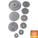 """Deals List: CAP Barbell 10lb 1"""" Standard Cast Iron Weight Plate, Gray, Single"""