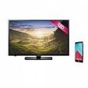 Deals List: LG 32 Inch LED TV 32LF500B HDTV (32LF500B) + LG G4 Unlocked Smartphone Genuine Leather Black (LGUS991A) + $150 Dell GC