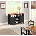 """Deals List: Better Homes and Gardens Autumn Lane Black Buffet For 55"""" TVs"""