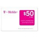 Deals List: $50 T-Mobile Prepaid Card (Card Email Delivery) + Free $5 Target Gift Card