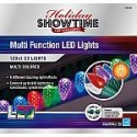 Deals List: Holiday Showtime 120ct LED C3 Christmas Lights 8 Lighting Functions