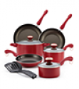 Deals List: Paula Deen Dishwasher Safe Nonstick 11-pc. Copper Cookware Set
