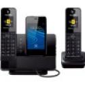 Deals List: Panasonic Link2Cell Digital Phone w/Answering Machine 2 Cordless Handsets