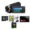Deals List: Sony HDRCX405 Handycam Camcorder + Free 32GB Memory Card + $25 Gift Card