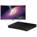 "Deals List: Samsung UN55JS9000 55"" 4K SUHD 3D Curved LED TV W/Samsung BD-J5700 Blu-ray  Player"