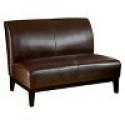 Deals List: Darcy Bonded Leather Loveseat