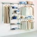 Deals List: Rubbermaid Configurations Custom Closet Deluxe Kit, Titanium, 4-8 Foot, FG3H8900TITNM