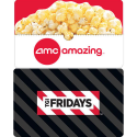 Deals List: $25 Chili's Gift Card + $25 AMC Gift Card