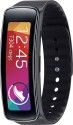 Deals List: Samsung - Gear Fit Fitness Watch with Heart Rate Monitor - Black, Pre-Owned