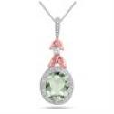 Deals List: Two-Tone Diamond Heart Bracelet