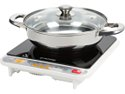 Deals List: Tatung TIH-F1500HU 1500 Watts Induction Cooktop with Stainless Steel Pot