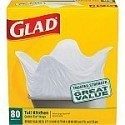 Deals List: Glad® Tall Kitchen Quick-Tie® Trash Bags, 13 Gallon, 80 Count
