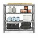 "Deals List: Gladiator 77"" 4 Shelf Tool-Free Rack 8000 LB Capacity"