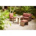 Deals List: Hampton Bay Posada 7-Piece Patio Dining Set with Cushion Insert