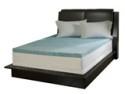 """Deals List: Simmons Curv™ 3"""" Flat Gel Memory Foam Mattress Topper, Full"""