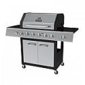 Deals List: Dyna-Glo 6-Burner LP Gas Grill in Black and Stainless Steel with Side Burner Model # DGF600SSP