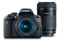 Deals List: Canon EOS Rebel T6i EF-S 18-55mm IS STM & EF-S 55-250mm IS STM Lens Refurbished