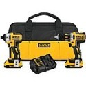 Deals List: DEWALT DCK281D2 20V Max XR Lithium Ion Brushless Compact Drill/Driver & Impact Driver Combo Kit