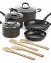 Deals List: Martha Stewart Collection 12-Pc. Stainless Steel Cookware Set