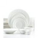 Deals List: White Elements Paloma Embossed 42-Piece Set, Service for 6