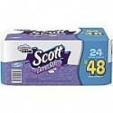 Deals List: 2 x Scott® Extra Soft Bath Tissue Rolls, Unscented, 24/Pack