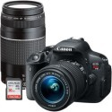 Deals List: Canon EOS Rebel T5i 18.0MP DSLR Camera with 18-55mm Lens, Extra 75-300mm Lens & Free 16GB Memory Card