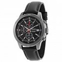 Deals List: Seiko Men's Analog Black Leather Strap Chronograph Sport Watch SKS439