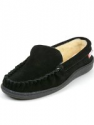 Deals List: Alpine Swiss Sabine Womens Suede Shearling Slip On Moccasin Slippers