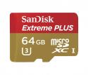 Deals List: SanDisk - Extreme PLUS 32GB microSDHC UHS-I Class U-1 Memory Card - Red/Gold, SDSQXSG-032G-ANCMA