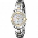 Deals List: Citizen Eco-Drive EW1824-57D Ladies' Regent Two-Tone Diamond Accent Watch with Mother-of-Pearl Dial