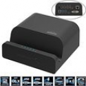 Deals List: Sabrent USB 3.0 Universal Docking Station with Stand for Tablets and Laptops supports Windows & Mac (DS-RICA)